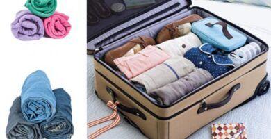 como hacer las maletas para viajar