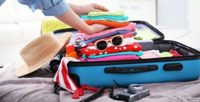 equipaje de viaje