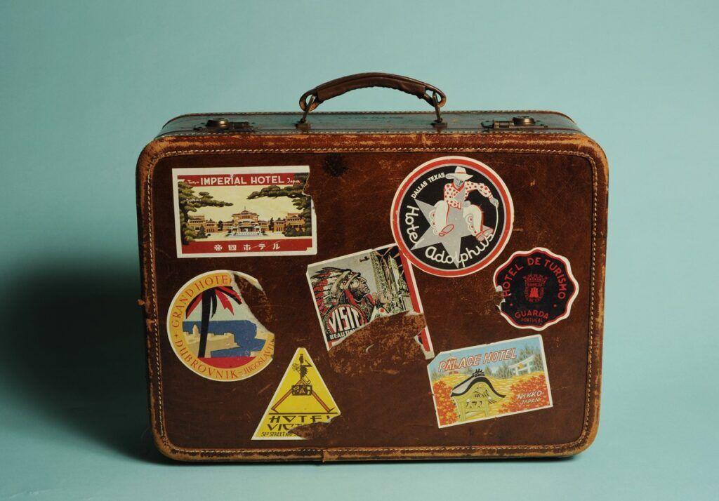 maleta antigua