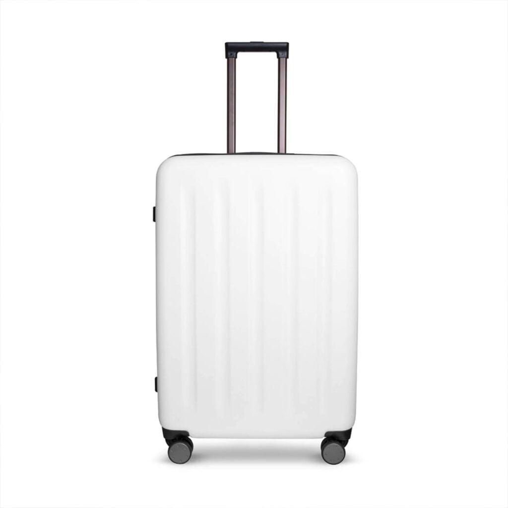 maleta blanca