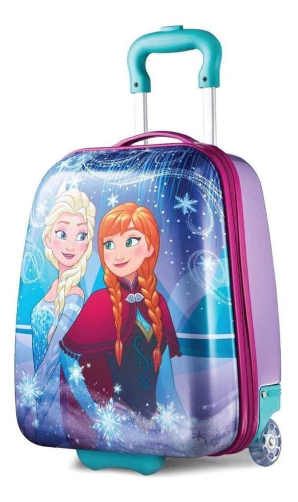 maleta de viaje frozen