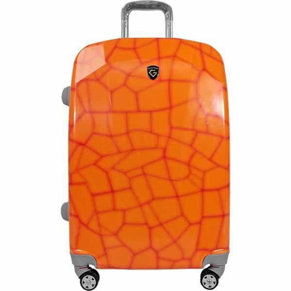 maleta naranja