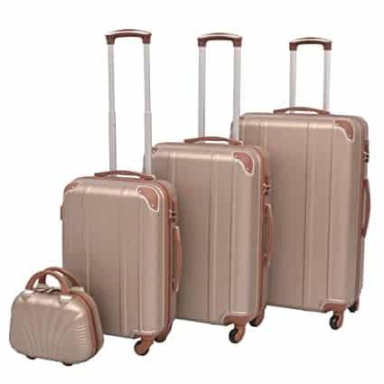 maletas beige