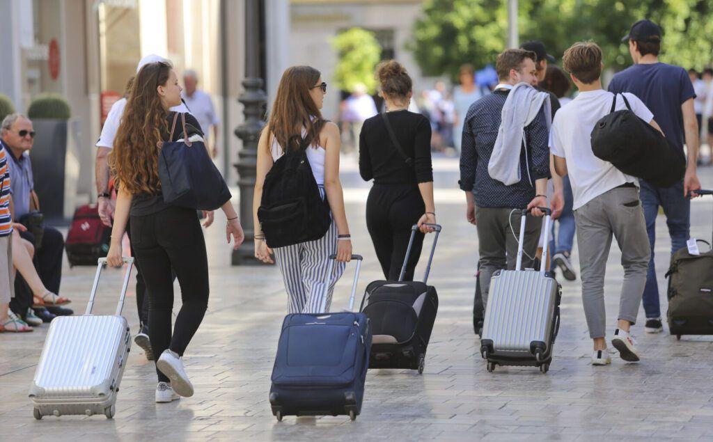 maletas de viaje para turistas