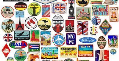 pegatinas para maletas de viaje